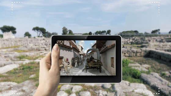 Proximity marketing augmented reality